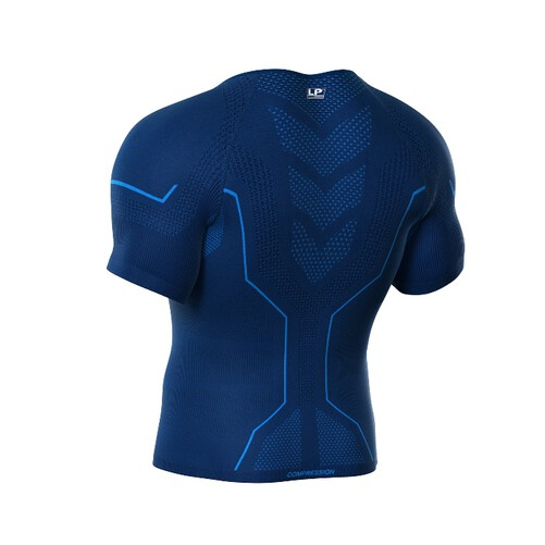 Men Air Compression Short Sleeves Top