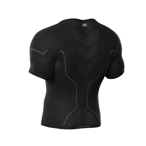 Men Air Compression Short Sleeves Top